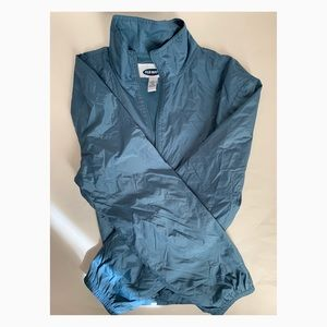 Old Navy Large Blue Nylon Jacket - Used